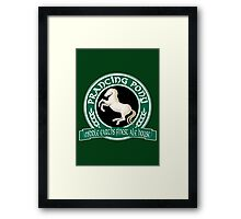 The Prancing Pony Framed Print