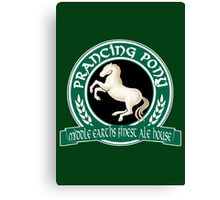 The Prancing Pony Canvas Print