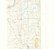 Maine USGS Historical Map Mars Hill 460593 1940 62500 by wetdryvac