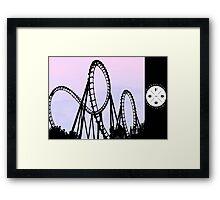 The FOOO Roller Coaster Framed Print