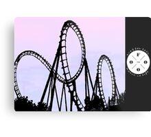 The FOOO Roller Coaster Metal Print
