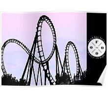 The FOOO Roller Coaster Poster