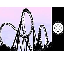 The FOOO Roller Coaster Photographic Print