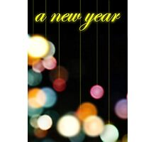A New Year Photographic Print