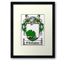 O'Callaghan (Cork)  Framed Print