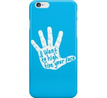 Hand to Face iPhone Case/Skin