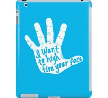 Hand to Face iPad Case/Skin