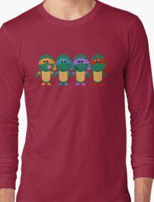 Childish Mutant Ninja Turtles Long Sleeve T-Shirt