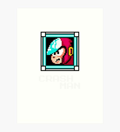 Crash Man Art Print