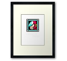 Crash Man Framed Print
