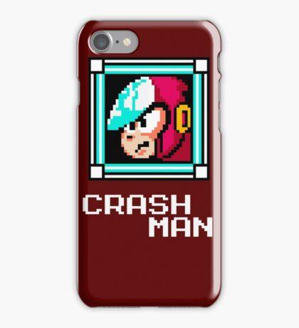 Crash Man iPhone Case/Skin