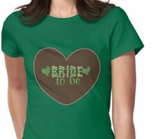 Retro Bride to be Womens Fitted T-Shirt