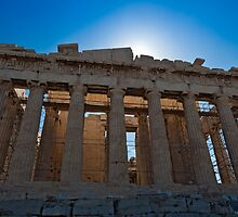 The Parthenon in Acropolis of Athens by Konstantinos Arvanitopoulos