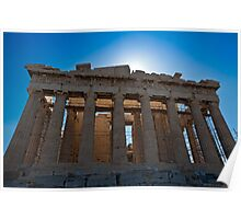 The Parthenon in Acropolis of Athens Poster