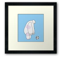 Big Hero 6 - Baymax (Light Blue) Framed Print