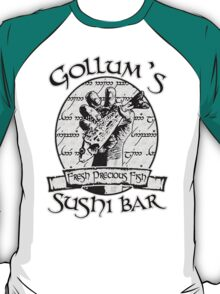 Gollum's Sushi Bar - Fresh Precious Fish T-Shirt
