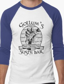 Gollum's Sushi Bar - Fresh Precious Fish Men's Baseball ¾ T-Shirt