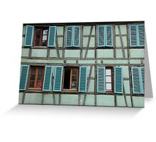 Alsace, France Greeting Card
