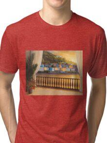 ITALIAN VIEW Tri-blend T-Shirt