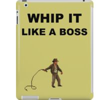 Whip it iPad Case/Skin