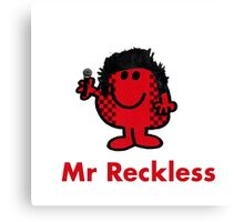 Mr Reckless Canvas Print
