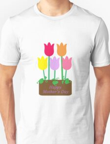 Happy Mother's Day Tulips Unisex T-Shirt