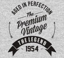 Vintage 1954 Aged To Perfection by Orphansdesigns