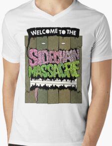 SIDECHAIN MASSACRE: non aprite quella porta. Mens V-Neck T-Shirt