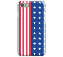 Star spangled banner iPhone Case/Skin