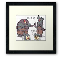 Like Father Like Son Framed Print