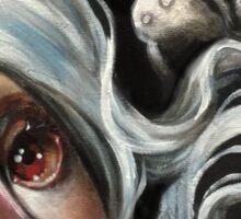 White Spirits :: Pop Surrealism Painting Sticker