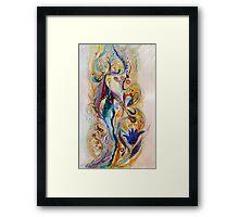The Splash Of Life. Composition 4 Framed Print