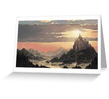 Sunrise Ruin Greeting Card