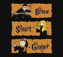 The Brave, the Smart, the Ginger Unisex T-Shirt