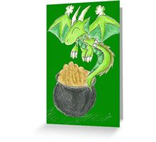 St. Patrick's Day Hatchling Greeting Card