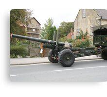 5.5 inch Field Gun Canvas Print