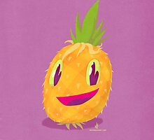 Mr. Pineapple Says Hello by Nate Bear
