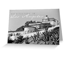 LA Architecture Greeting Card