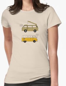 Van Life Womens Fitted T-Shirt