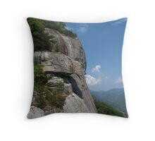 Chimney Rock State Park View Throw Pillow