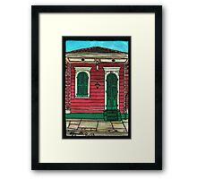811 Governor Nicholls Framed Print