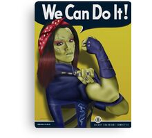 Gamora - We Can Do It Canvas Print