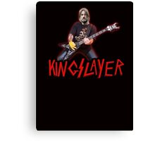 KING SLAYER - Jaime Lannister Game of Thrones Canvas Print