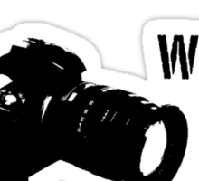 Will Take Photos For Food Sticker