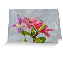 Two Tulips Greeting Card