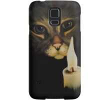 Cat & Candle Samsung Galaxy Case/Skin