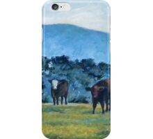 Cows in Field iPhone Case/Skin