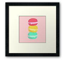 """Macaron"" Framed Print"