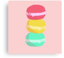 """Macaron"" Canvas Print"