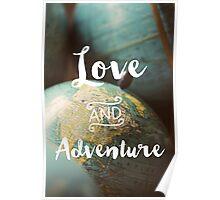 Love & Adventure Poster